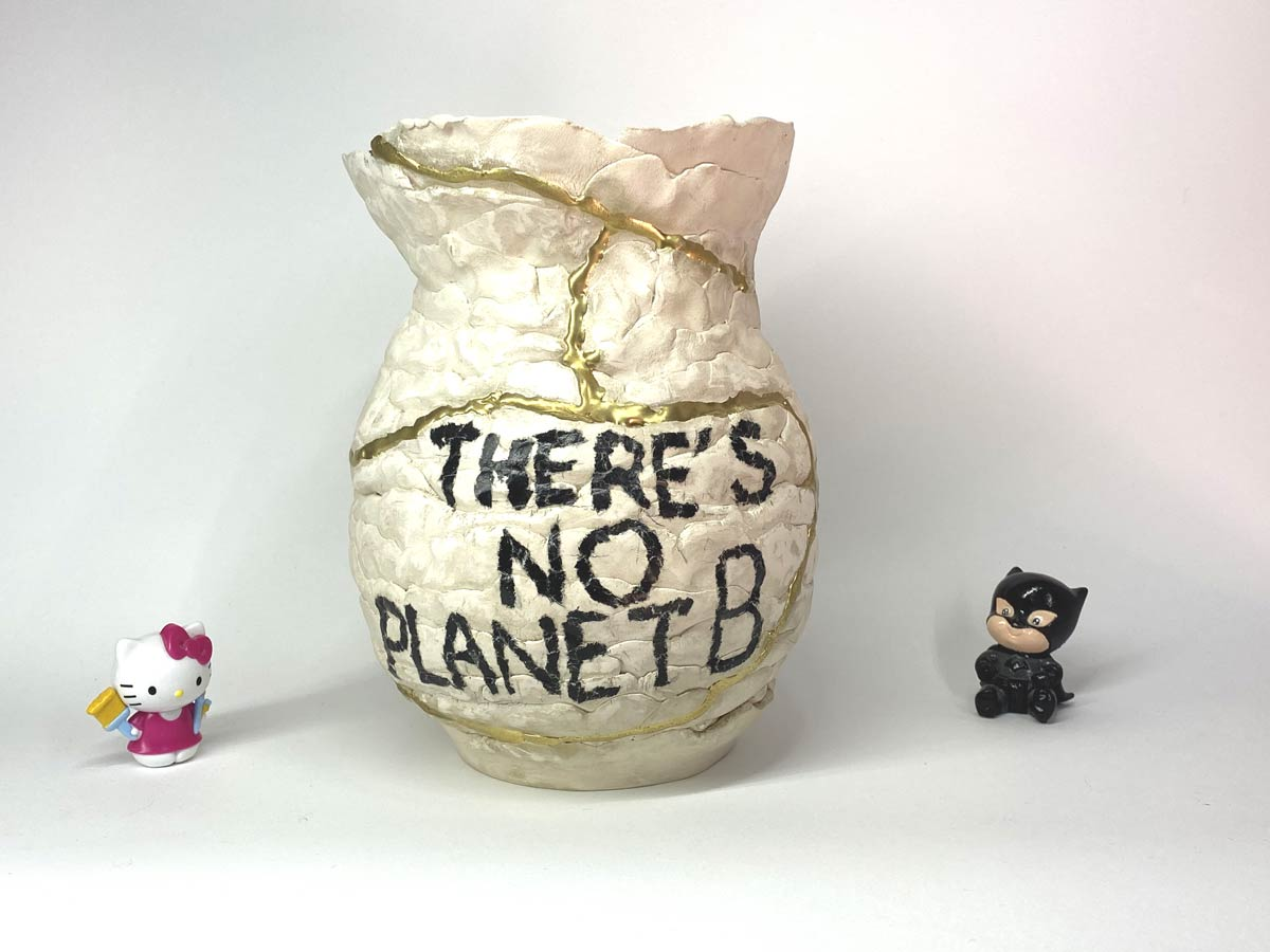 kintsugi moderno there is no planet b 1